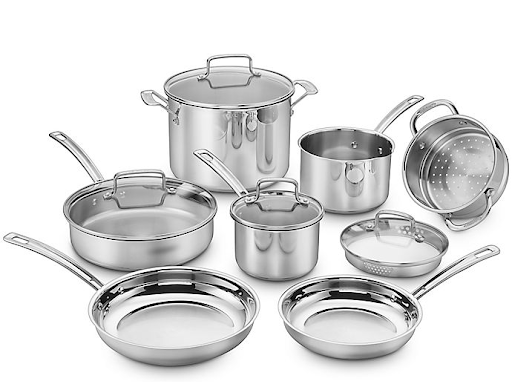 pots and pans for wedding gift