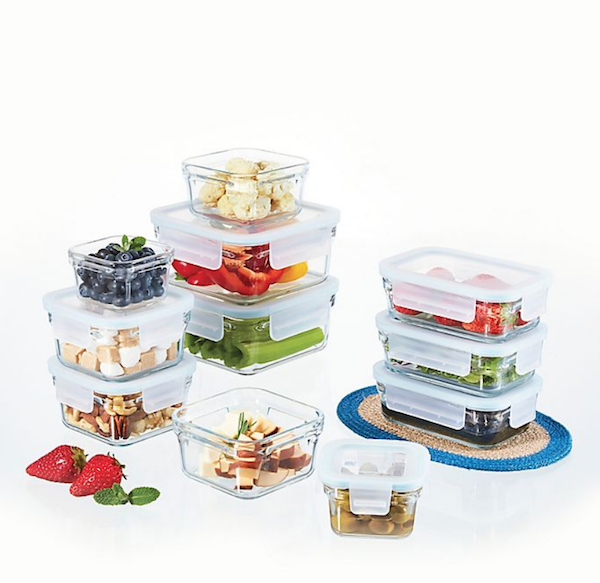 Your Healthy Wedding Registry | 22-Piece Glasslock Food Storage Set
