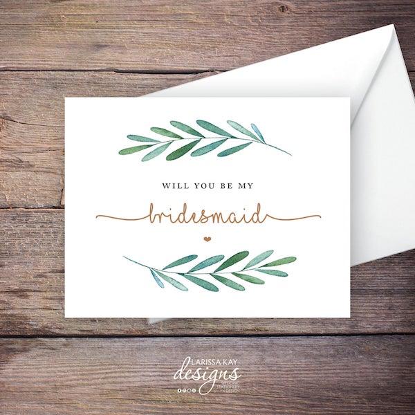 6 Steps for DIY Bridesmaid Bundles | Include a Card