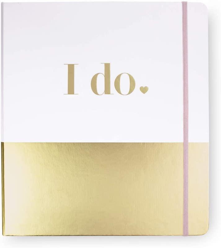 Kate Spade New York Blush Pink Bridal Wedding Planner Organizer Ring Binder, Miss to Mrs.