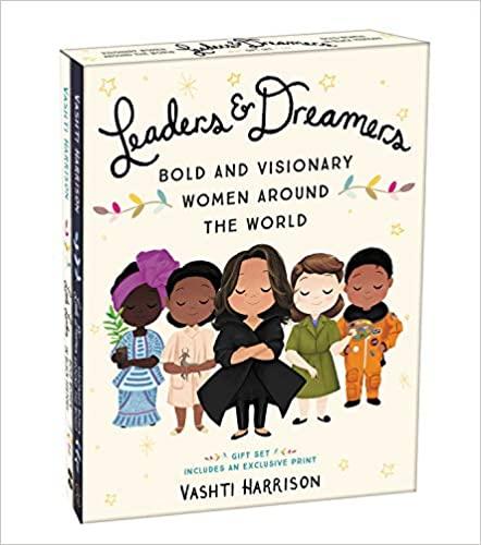 Vashti Harrison Boxed Set Leaders and Dreamers Hardcover – Illustrated