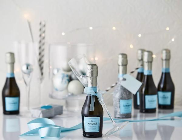 bridesmaid gift | prosecco
