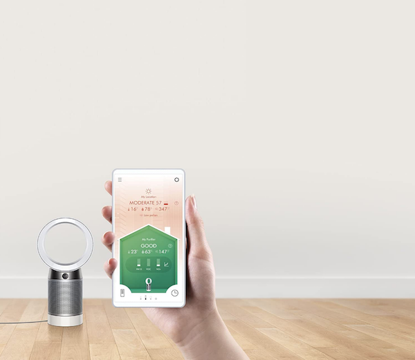12 Tech Gifts You'll Love Adding to Your Wedding Registry | Dyson Air Purifier