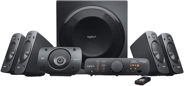 Tech Gifts You'll Love Adding to Your Wedding Registry | Logitech Surround Sound Speaker System