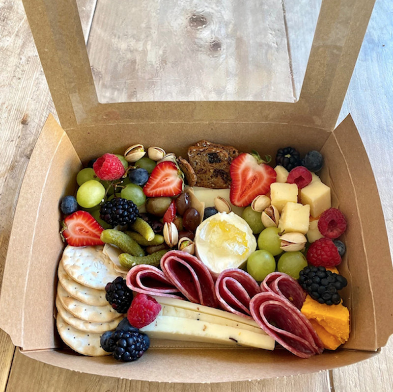 individual charcuterie boxes