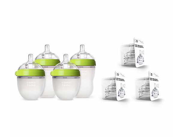 7-Piece Baby Bottle Gift Set