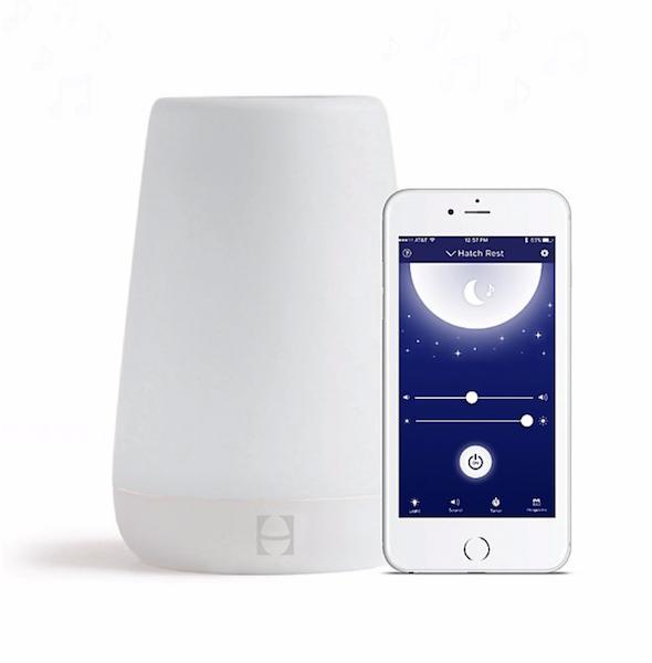 Hatch Baby Rest Sound Machine Night Light & Time-to-Rise