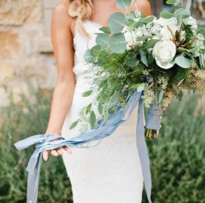 something blue wedding day tradition