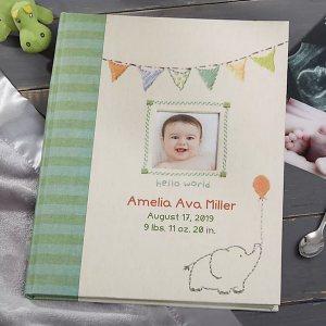 14 Personalized & Sentimental Baby Gifts | Personalized Memory Book