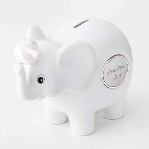 14 Personalized & Sentimental Baby Gifts | Engraved Piggy Bank