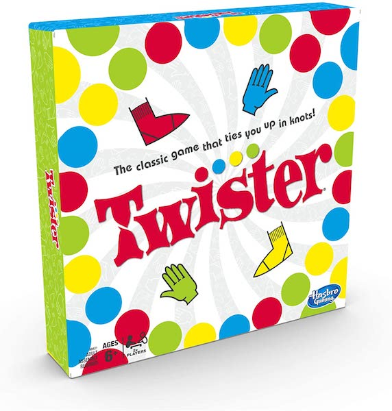Twister Game, Party Game, Classic Board Game for 2 or More Players