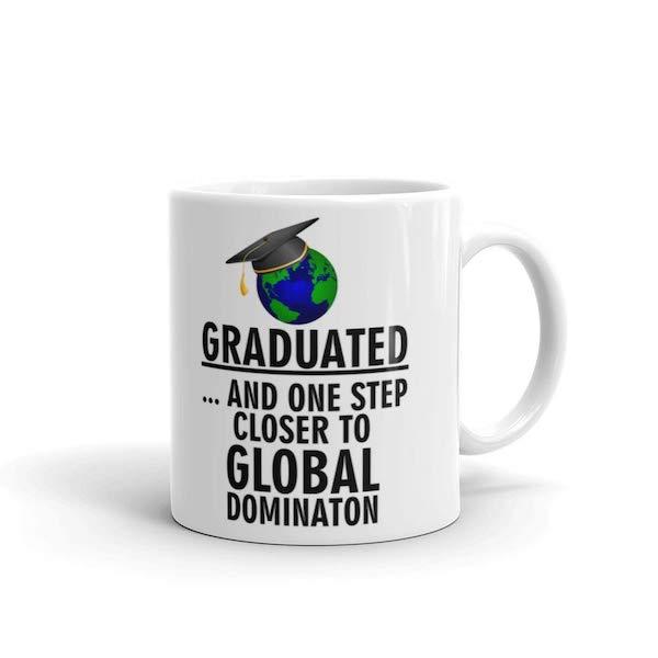 High School & College Graduation Gifts for Every Budget | Celebratory mug