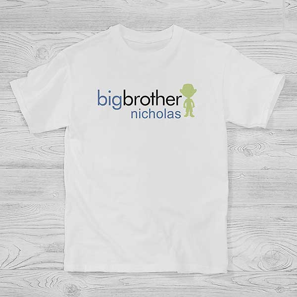 Big/Baby Brother & Sister Personalized Hanes® Kids T-Shirt