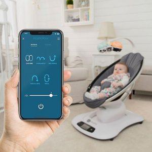 Top Tech Baby Registry   4Moms Mamaroo Swing