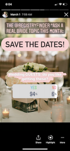 do guests like save the dates