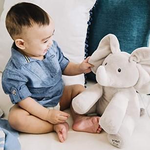 Best Baby Gifts | Gund Flappy Stuffed Elephant