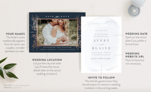 sample save the date