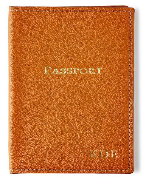Bride & Groom Gift Exchange | Personalized Passport Holder