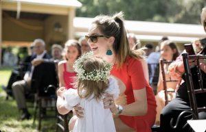 give kids jobs at weddings