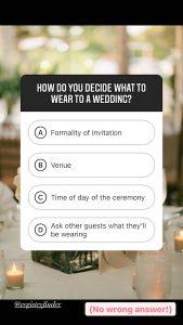 Dress Code multiple choice