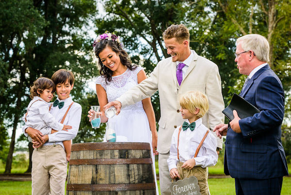Celebrate Your Blended Family During Your Wedding Ceremony   Perform a Ritual of Symbolic Blending