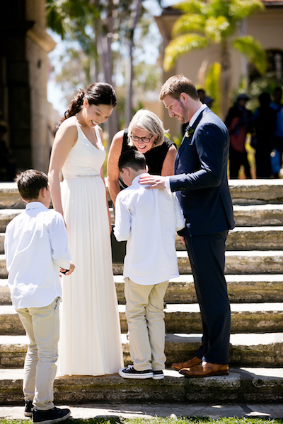 Blended Family Wedding   Include Them in Your Vows