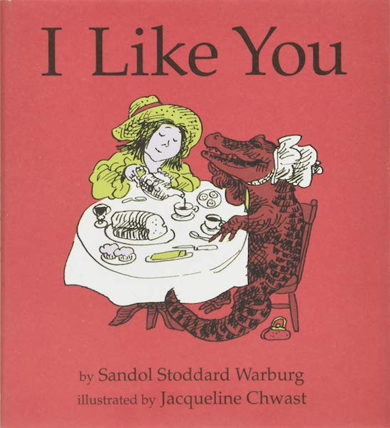 15 Poetry Books to Inspire Your Vows | I Like You by Sandol Stoddard Warburg