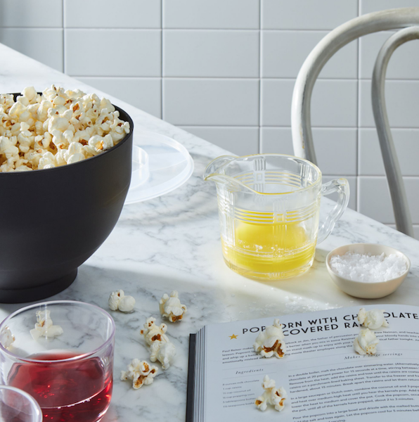 Unique Registry Items From Food52 | Popcorn Maker & Eat What You Watch Cookbook