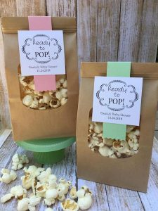 ready to pop baby shower favor