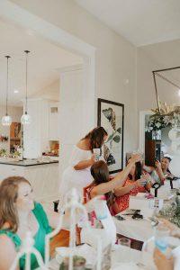 bridal dinner celebration