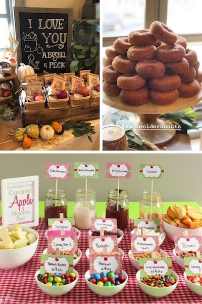 Apple of Our Eye Baby Shower Theme