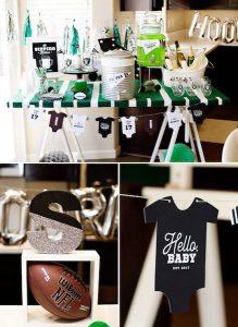 Football Star Baby Shower Theme